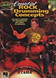 img - for Essential Rock Drumming Concepts - An Encyclopedia of Progressive Rhythmic Techniques: Musicians Institute Master Class (Book/CD) (Musicians Institute: Private Lessons) book / textbook / text book