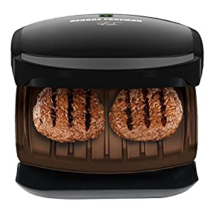 George Foreman GR136B 2-Serving Classic Plate Grill, Black from Applica Incorporated/DBA Black and Decker