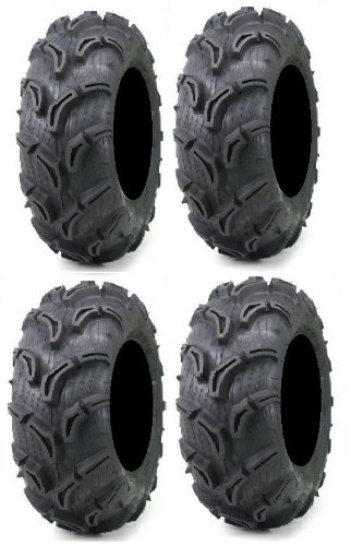 Full set of Maxxis Zilla 27x9-12 and 27x11-12 ATV Mud Tires (4) (Atv Tires Maxxis compare prices)