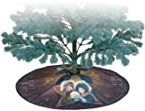 Premier Kites 80034 Tree Skirt, Peace On Earth, 28-Inch