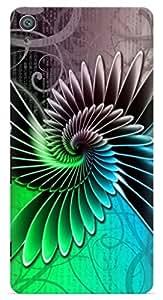Kizil ™ Designer Printed Back Case Cover for Sony Experia T2 Ultra