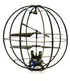 Space Ball - Infrared Remote Control 3CH R/C Flying Helicopter Sphere Gyroscope - Black Version by Kyosho