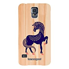buy Homesogood Abstract Prancing Horse Yellow 3D Mobile Case For Lg Nexus 5 (Back Cover)