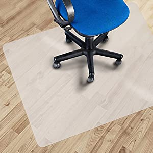 Office Marshal® Eco Office Chair Mat - Hard Floor Protection - BPA Free | Opaque
