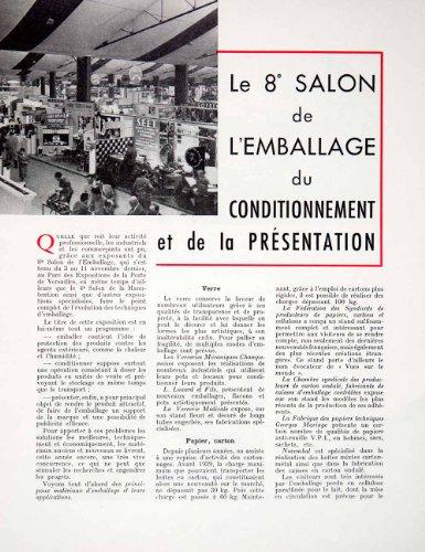1955-article-packaging-exposition-michel-latour-cellophane-beaurepaire-celcosa-original-print-articl