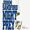 Night Prey: A Lucas Davenport Novel (       UNABRIDGED) by John Sandford Narrated by Richard Ferrone