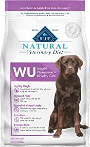 Blue Natural Veterinary Diet WU Weight Management + Urinary Care 6lb