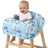 Bright Starts Comfort & Harmony Cozy Cart Cover, Calypso Blue