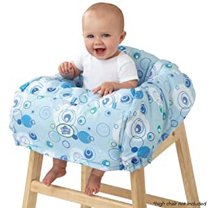 Bright Starts Comfort & Harmony Cozy Cart Cover, Calypso Blue (Discontinued by Manufacturer)