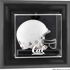California Bears Framed Logo Wall Mountable Mini Helmet Display Case by Mounted Memories