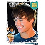 Official Troy and the Boys High School Musical 2009 calendar featuring Zac Efron