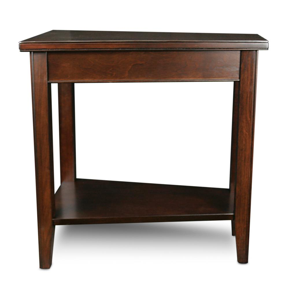 Amazon Com Leick Laurent Recliner Triangle End Table