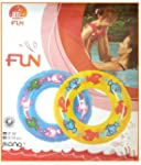 Inflatable Pool Swim Rubber Ring Tyre...