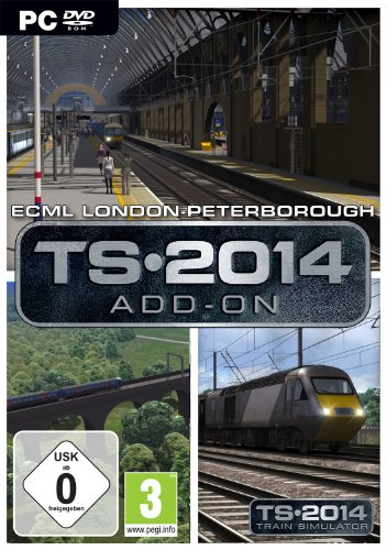 Train Simulator 2014 - East Coast Main Line London-Peterborough Route Add-On Steam Code (PC)