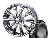 [235/55R20]GOODYEAR / ICE NAVI SUV スタッドレス [2/-][Weds / LEONIS WX (HSMC) 20インチ] スタッドレス&ホイール4本セット ムラーノ(Z51系)