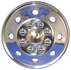 Style-Line AL-195NRSS-01 19.5″ Stainless Steel Wheel Cover