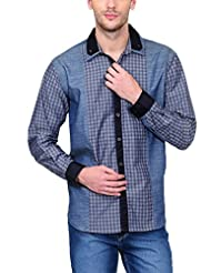 Yepme Men's Checks Cotton Shirt - YPMSHRT0439