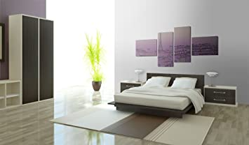 impression sur toile 200x90 cm cm 4 parties image sur sur toile images photo. Black Bedroom Furniture Sets. Home Design Ideas