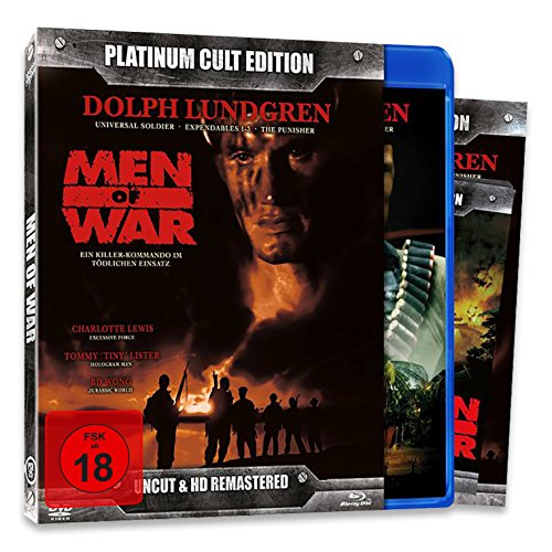 Men of War (Platinum Cult Edition) - limitierte Auflage!! [Blu-ray] [Limited Edition]