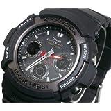 カシオ Gショック 200M防水 電波 ソーラー 腕時計 マルチバンド5 AWG-101-1AJF
