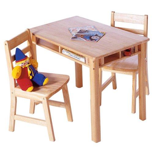 Outstanding Lipper International 534 Child S Rectangular Table And 2 Short Links Chair Design For Home Short Linksinfo