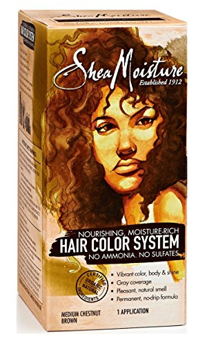 Shea Moisture Nourishing, Moisture-Rich Hair Color System - Medium Chesnut Brown (Shea Moisture Dye compare prices)