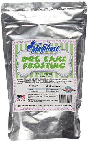 """K9Cakery Magi Frost Frosting for Dog Cake, 9 by 6 by 3"""""""