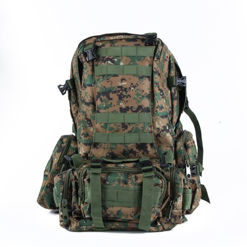 WXBUY Large Outdoor Molle Assault Tactical Backpack Military Rucksack Backpack Bag USA (CL)