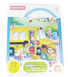 Fisher Price Little People Puzzle (School Bus)
