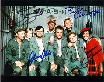 Mash Cast Signed Autographed 8 X 10 Reprint Photo - Mint Condition at