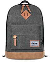 EcoCity Classical College School Laptop Backpack Rucksak Back Pack Bags