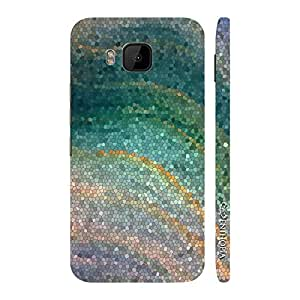Enthopia Designer Hardshell Case Coloured Mosaic Back Cover for HTC One M9