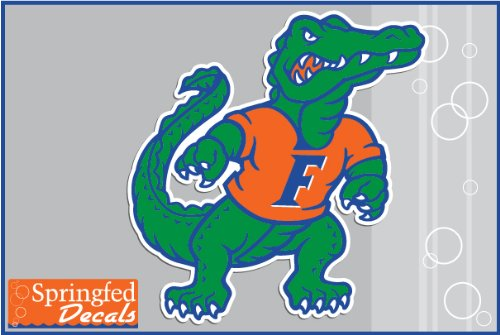 "Florida Gators Standing Gator 8"" Vinyl Decal Car Truck Window Sticker Uf"
