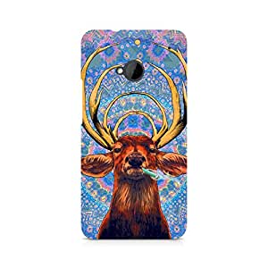Ebby Smoking Deer Premium Printed Case For HTC One M7