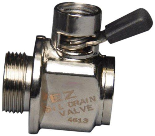"Ez (Ez-205) Silver 1-1/8""-12 Unf Thread Size Oil Drain Valve"