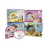 Kids Winnie The Pooh Disney 3 Piece Breakfast Set