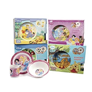 Kids Minnie Mouse Disney 3 Piece Breakfast Set