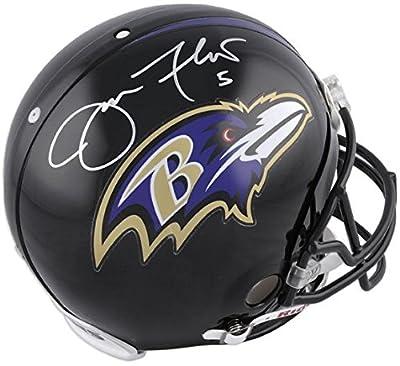 Joe Flacco Baltimore Ravens Autographed Pro-Line Riddell Authentic Helmet - Fanatics Authentic Certified