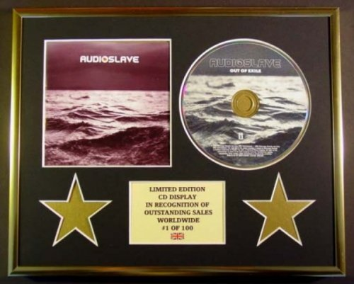 AUDIOSLAVE/CD Display/Limitata Edizione/Certificato di autenticità/OUT OF EXILE