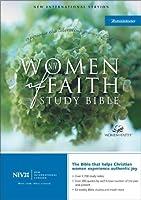 NIV Women of Faith Study Bible - Violet