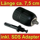 Schnellspannbohrfutter mit SDS Adapter 2 - 13 mm, DKB 41082