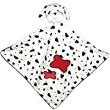 Velour Spotty Dog Comforter Blanket Soother For Baby