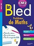 Cahier Bled Problèmes De Maths CM2...