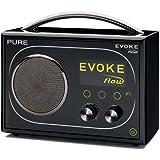 Pure Evoke Flow Tragbares Radio (Internet, DAB, UKW-Tuner, USB 2.0) schwarz