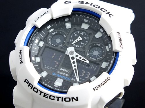 Casio CASIO G shock g-shock ハイパーカラーズ watch GA 100B-7 A parallel imported goods