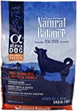 NATURAL BALANCE 236203 4-Pack Alpha Dog Whitefish, Trout and Salmon Dry Dog Food, 5-Pound
