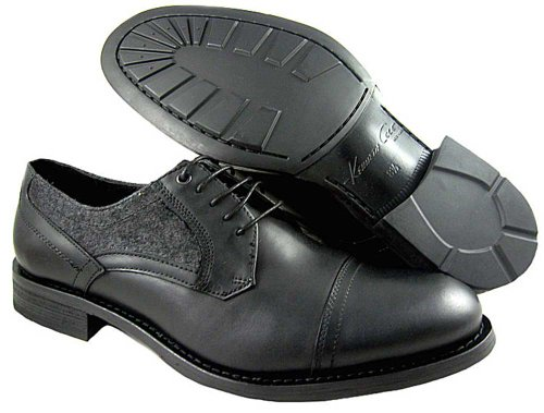 Kenneth Cole New York Men's Spring To Mind Oxford,Black,11 M US