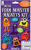3 x Mini Foam Alien Monster Magnets Kits - Makes 6 Magnets Per Pack - Ideal for parties and as teacher class gifts