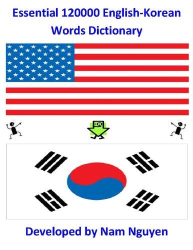 Nam Nguyen - Essential 120000 English-Korean Words Dictionary