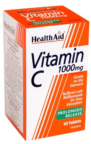 HealthAid Vitamin C 1000mg - Prolong Release - 60 Tablets